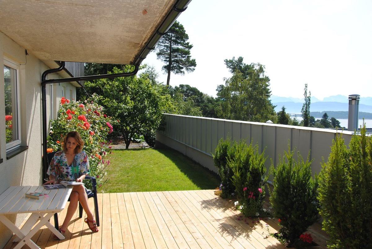 casa norvegia terasa