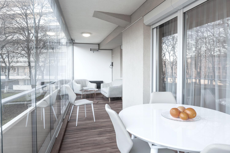 apartament cu terasă