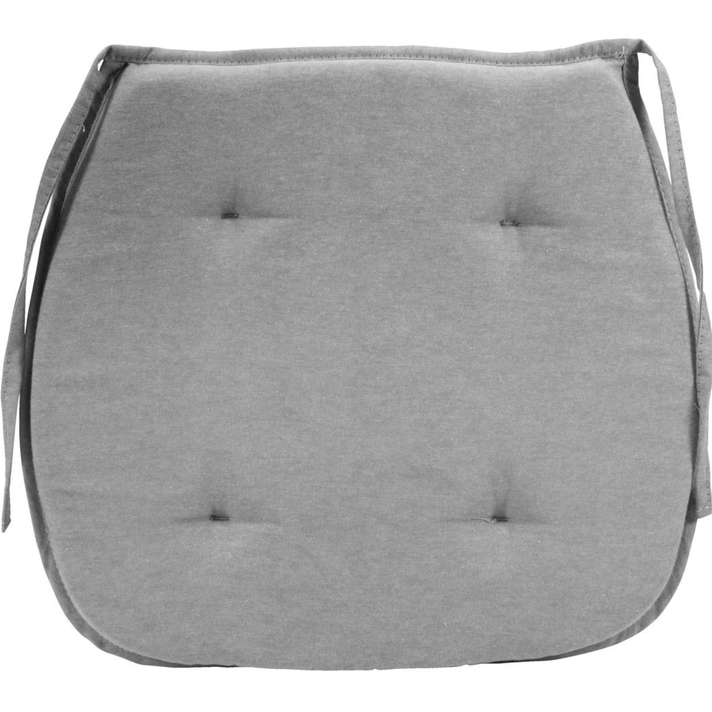pernă pentru scaun gri