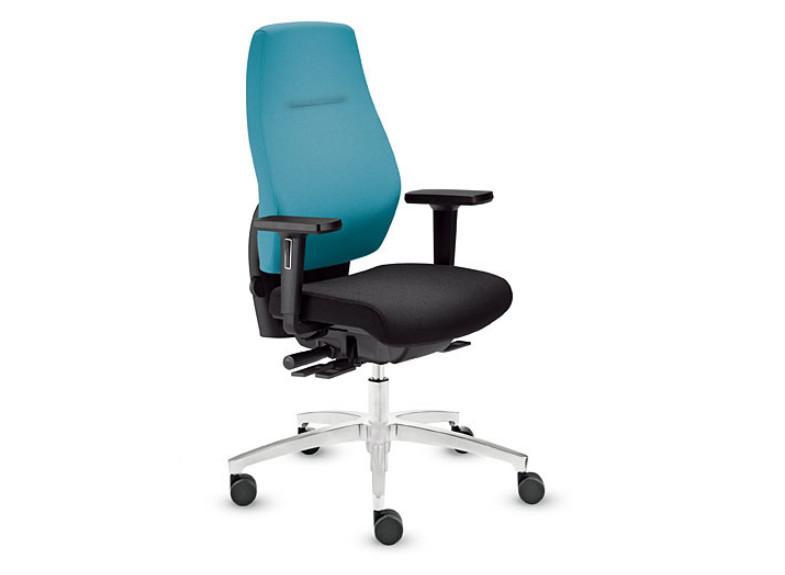 scaun ergonomic turcoaz