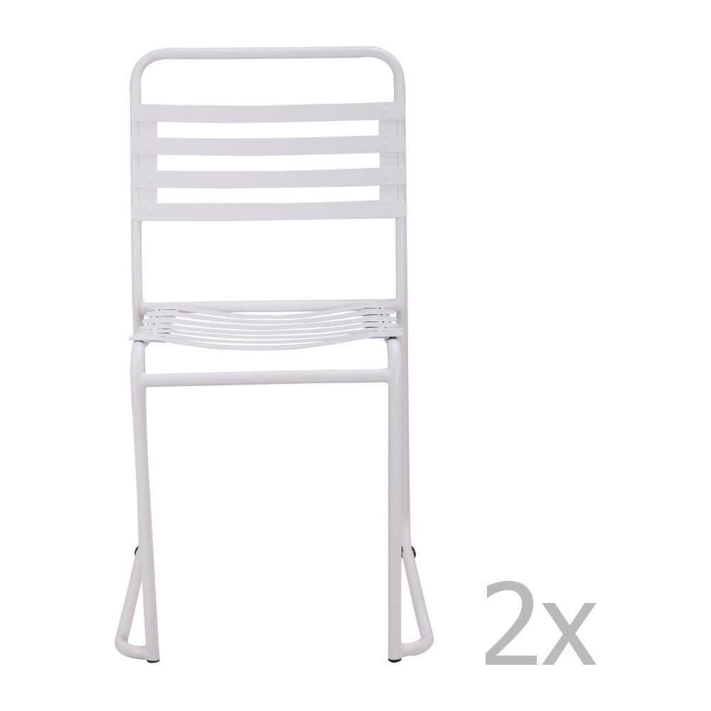 set 2 scaune red cartel park alb balcon
