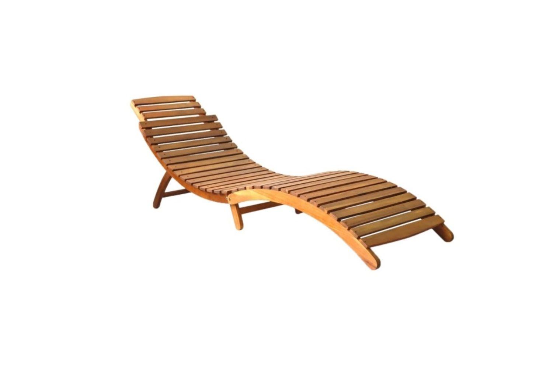 sezlon lemn masiv