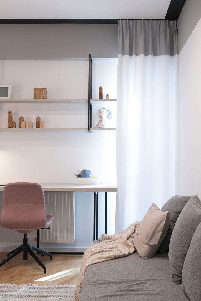 Amenajare birou minimalist scandinav- Yoka Design - Bucuresti