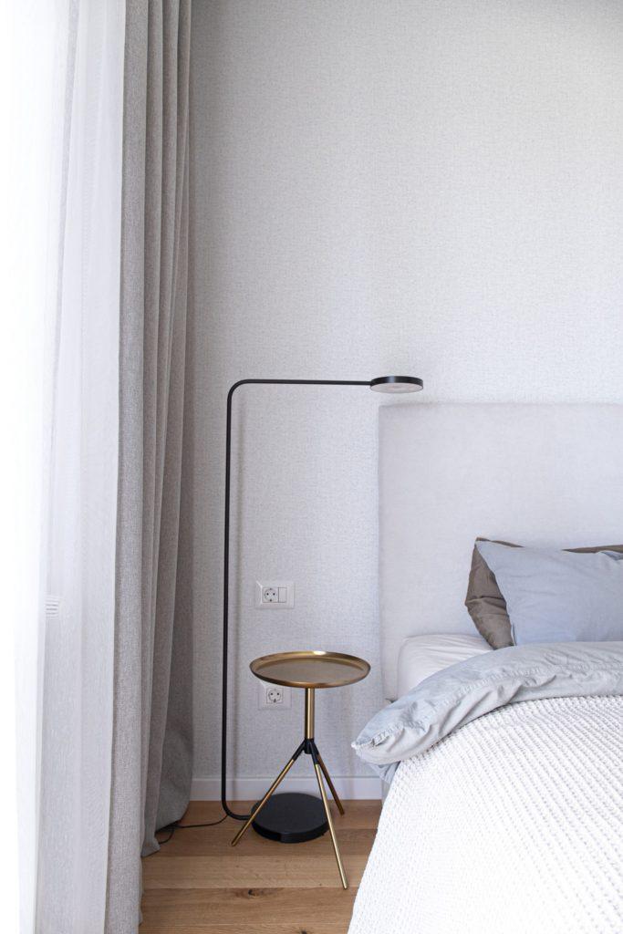 Amenajare dormitor minimalist scandinav- Yoka Design - Bucuresti
