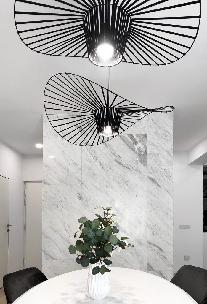 Zona dining corp iluminat de design