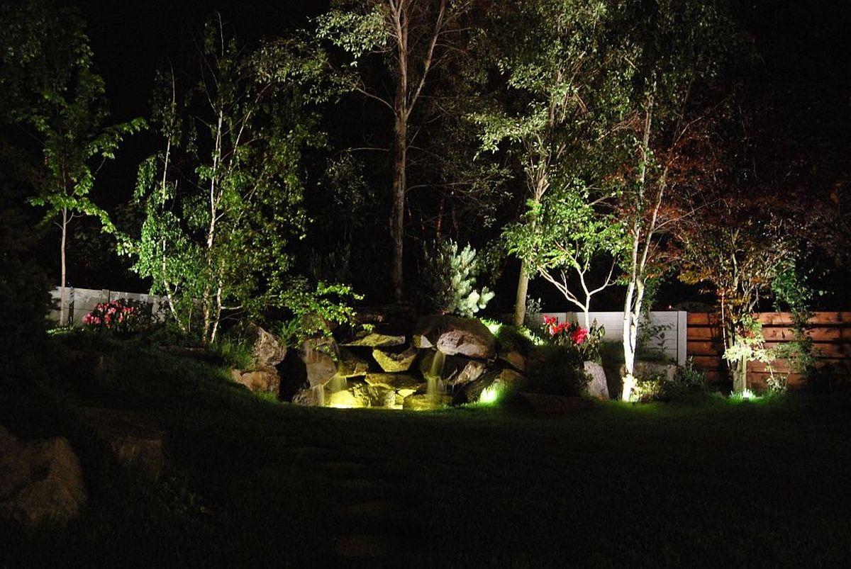 gradina luminata