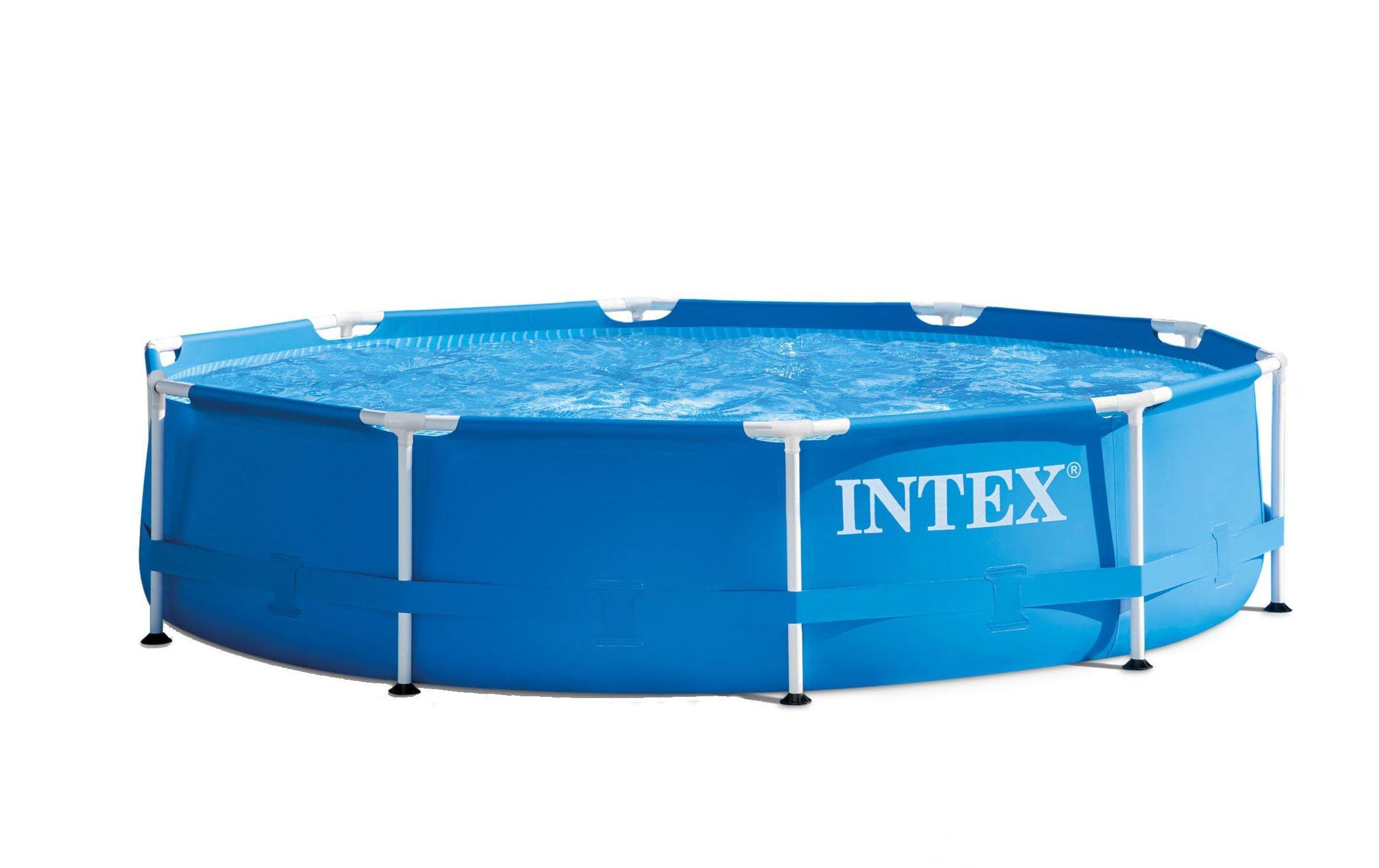 piscina cadru metalic intex rotunda