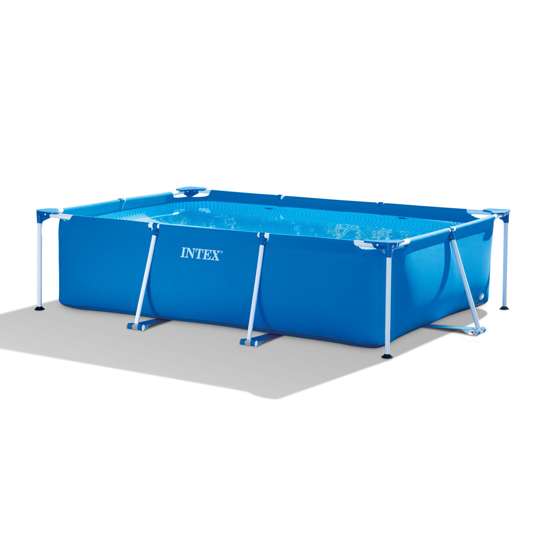 piscine mici de curte cu cadru metalic