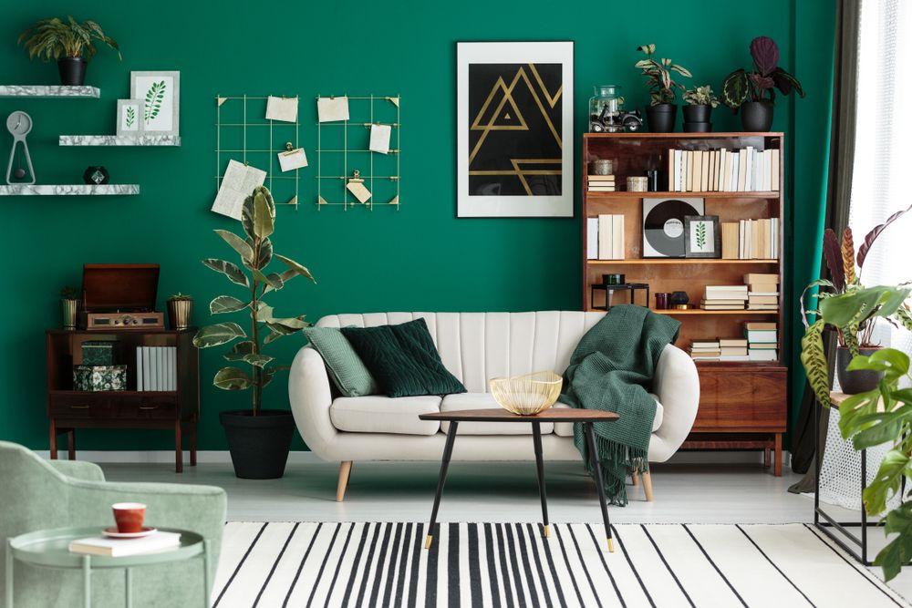 Trenduri decorative verde