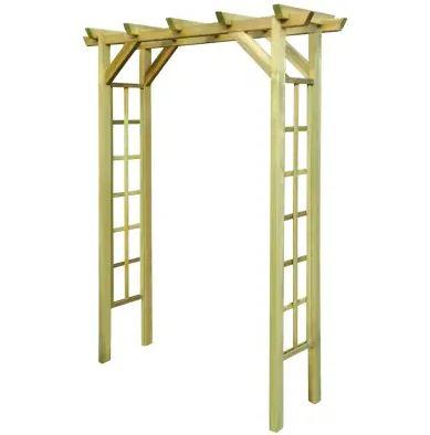 pergolă de grădină lemn accesibilă