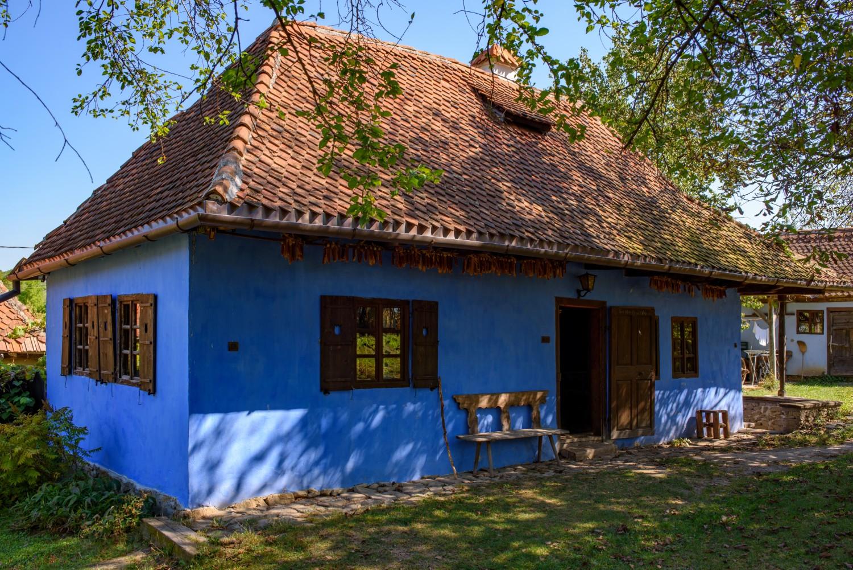Casele de oaspeți ale Contelui Kálnoky din Micloșoara - Blue House