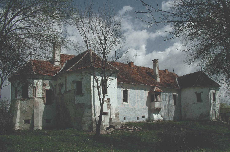 Castelul nobiliar din Micloșoara înainte de restaurare (2)