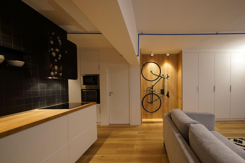 recompartimentare apartament de inchiriat open space