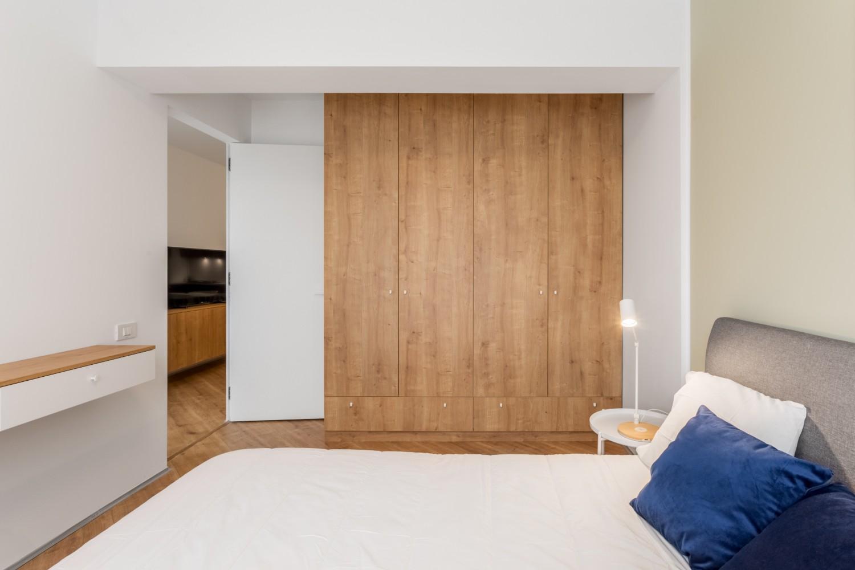 Amenajare apartament de inchiriat - dressing dormitor - Space Casuals
