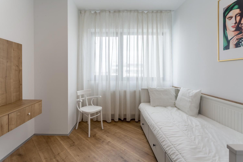 Amenajare apartament de inchiriat - verde - birou cameră de oaspeți - Space Casuals