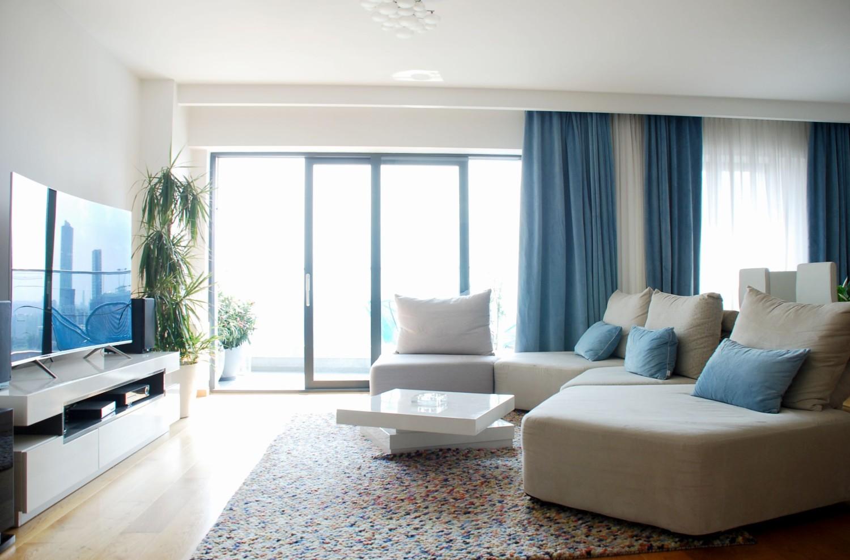 Amenajare apartament modern de inchiriat Bucuresti - arhitect Oana Tapu (3)