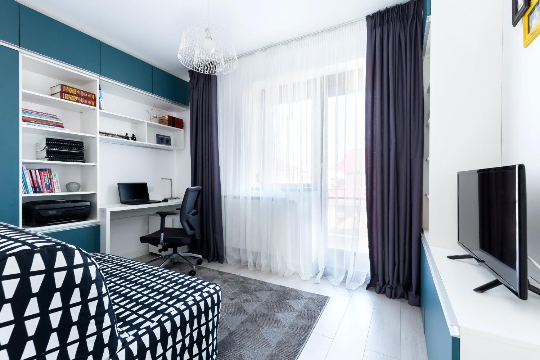 Biroul - cameră de oaspeți - Vim Studio