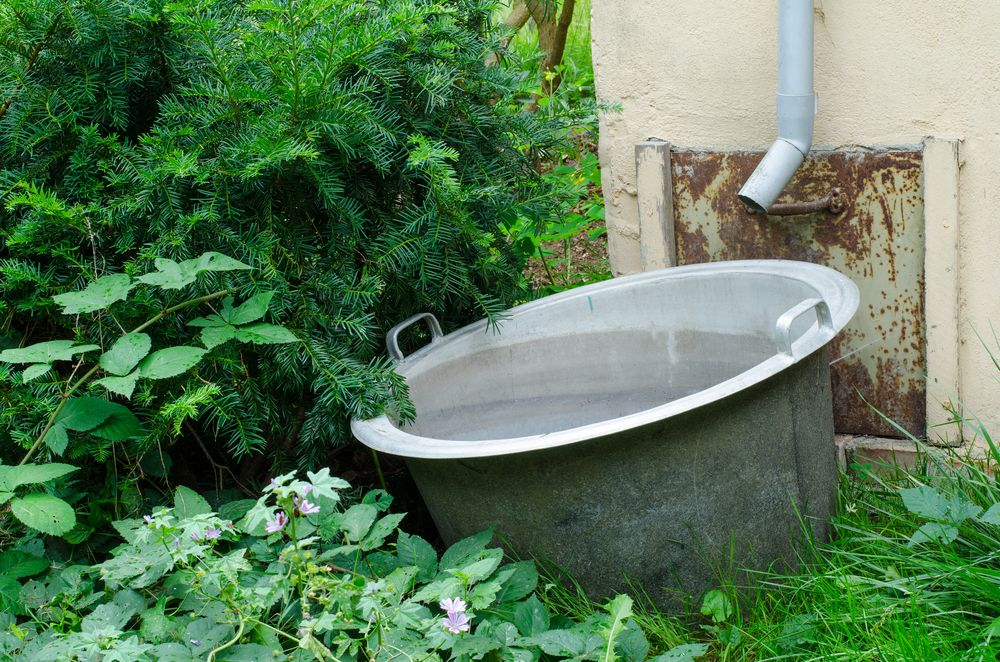 casă eco apă de ploaie