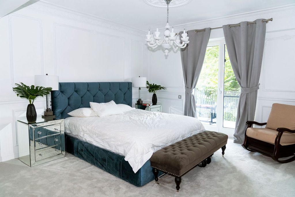 amenajare dormitor alb