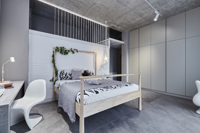 dormitor_amenajare_stil_industrial