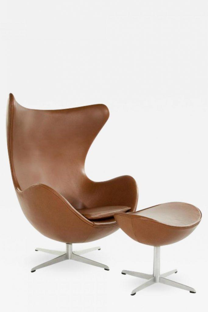 stilul mid-century modern - egg chair