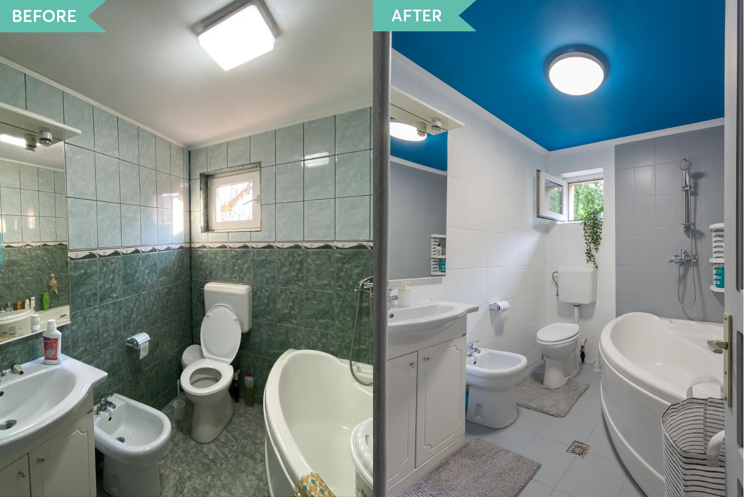 Zen Casa Comarnic - before and after - amenajare AfterDeco