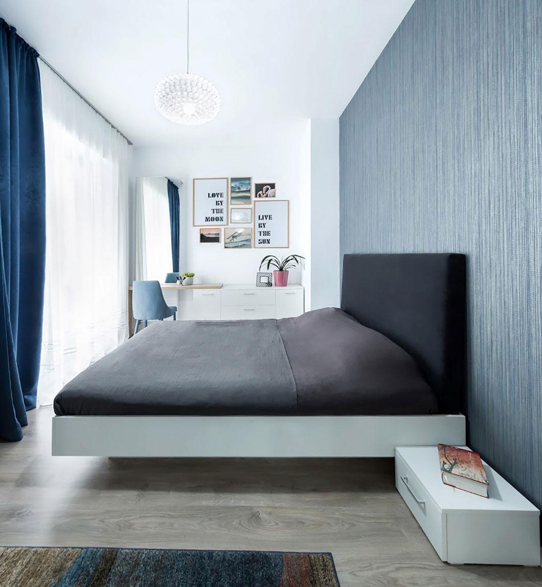 amenajare apartament 3 camere dormitor