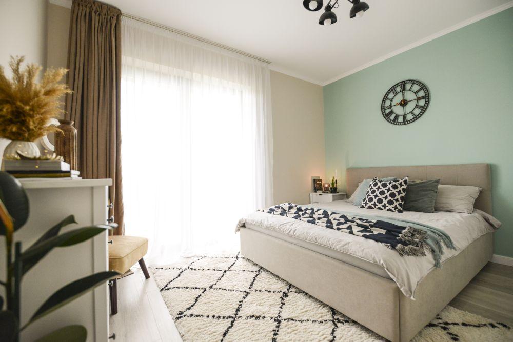 apartament Timișoara dormitor