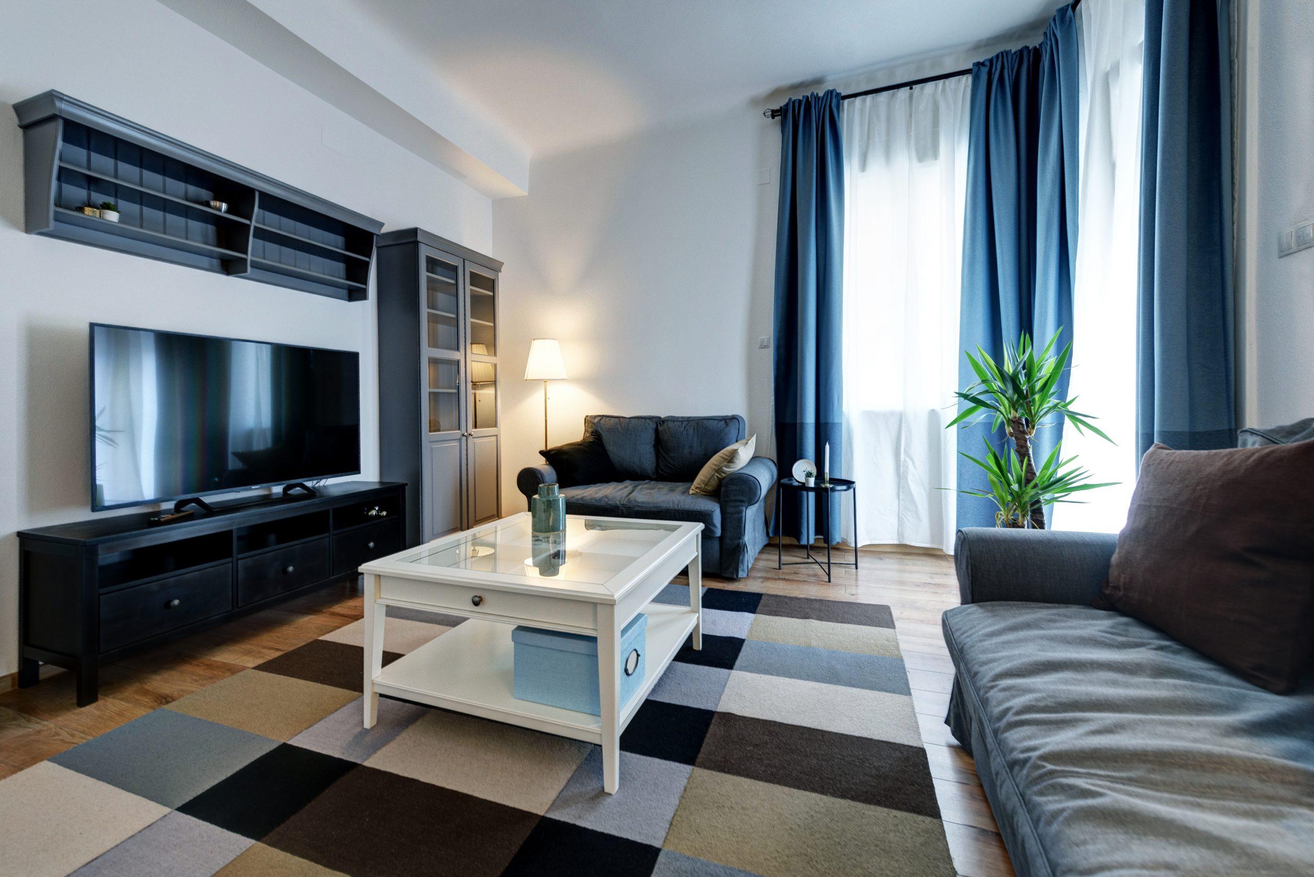 apartament Cluj produse Ikea sufragerie vedere de ansamblu