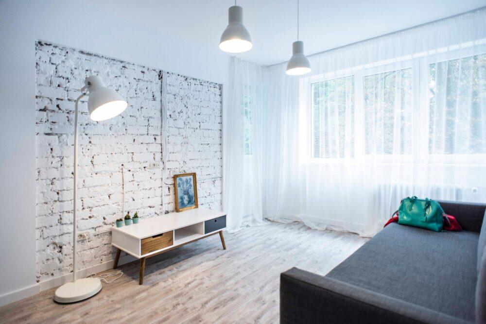 Amenajare living caramida alba Bucuresti_ Diez Office (9)