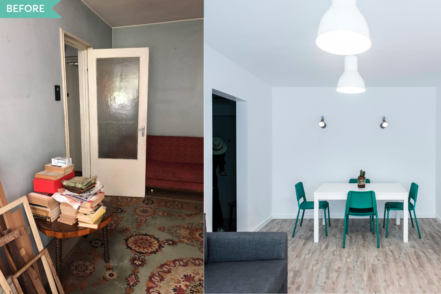 Before and After living apartament Militari - Diez Office (4)