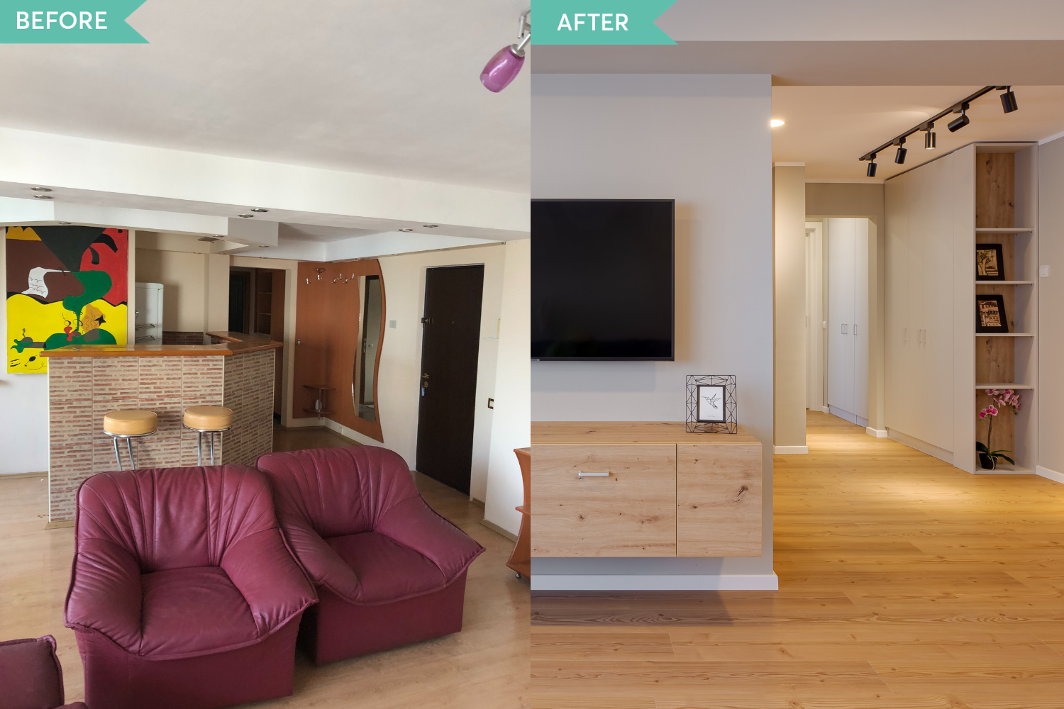 Renovare apartament Aviatiei - before and after _ Arh. Cristiana Zgripcea (8)