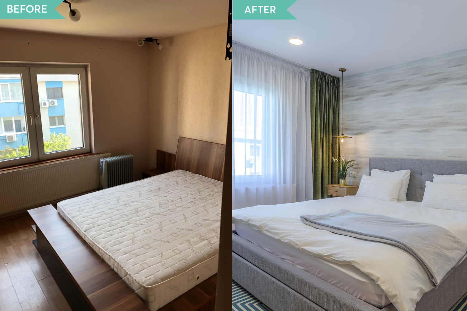 Renovare apartament Aviatiei - before and after _ Arh. Cristiana Zgripcea (9)