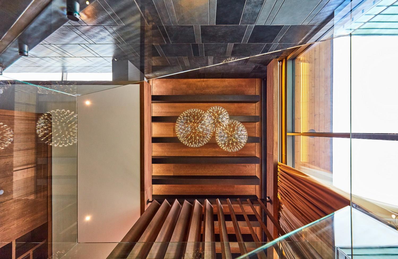 Scara interioara lemn sticla ardezie_loft duplex Brasov_In Situ (4)