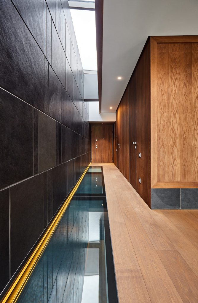 Scara interioara lemn sticla ardezie_loft duplex Brasov_In Situ (5)