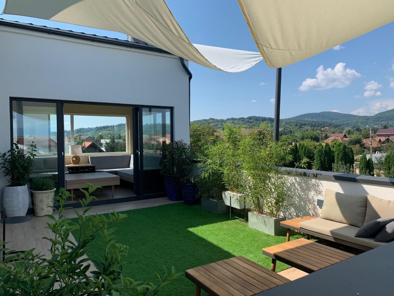 Terasă penthouse Baia Mare - designer Raul Șerban Hangar7586