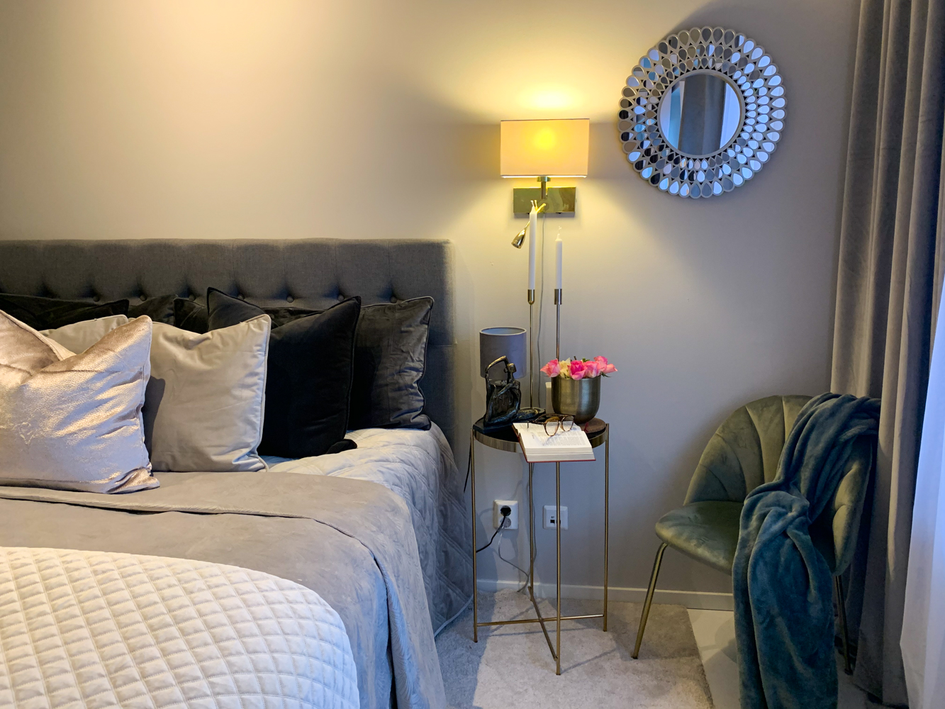 dormitor apartament suedia