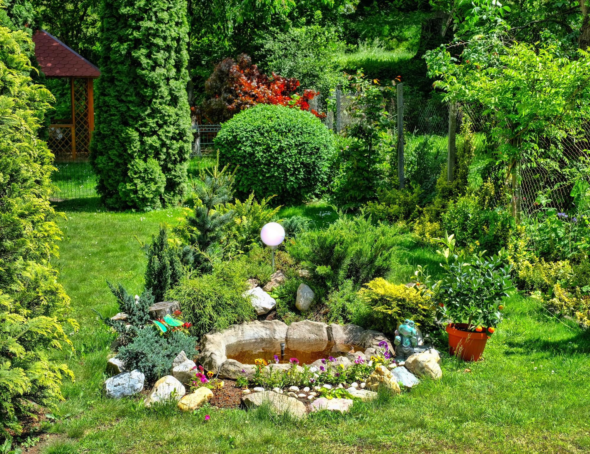 fântâni arteziene de grădină din piatră