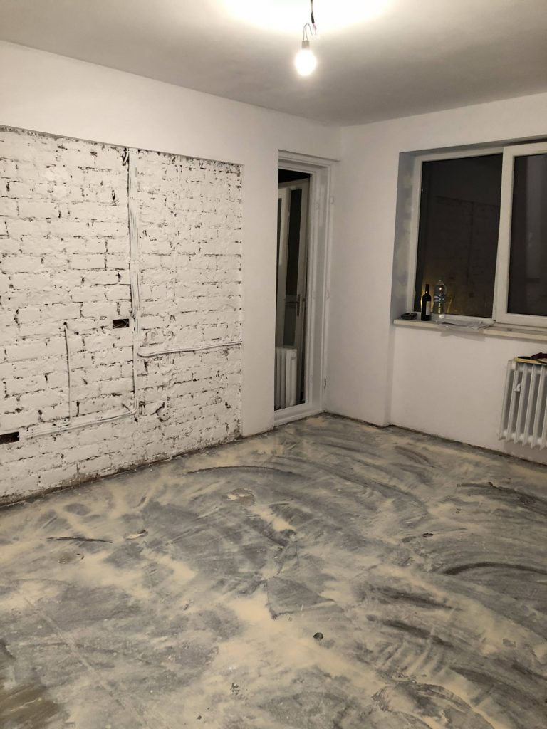 living apartament militari - santier decopertare caramida (1)