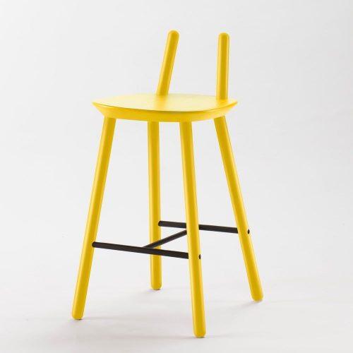 mobilă casă piese_de_mobilier_minimaliste_scaun_galben_bonami