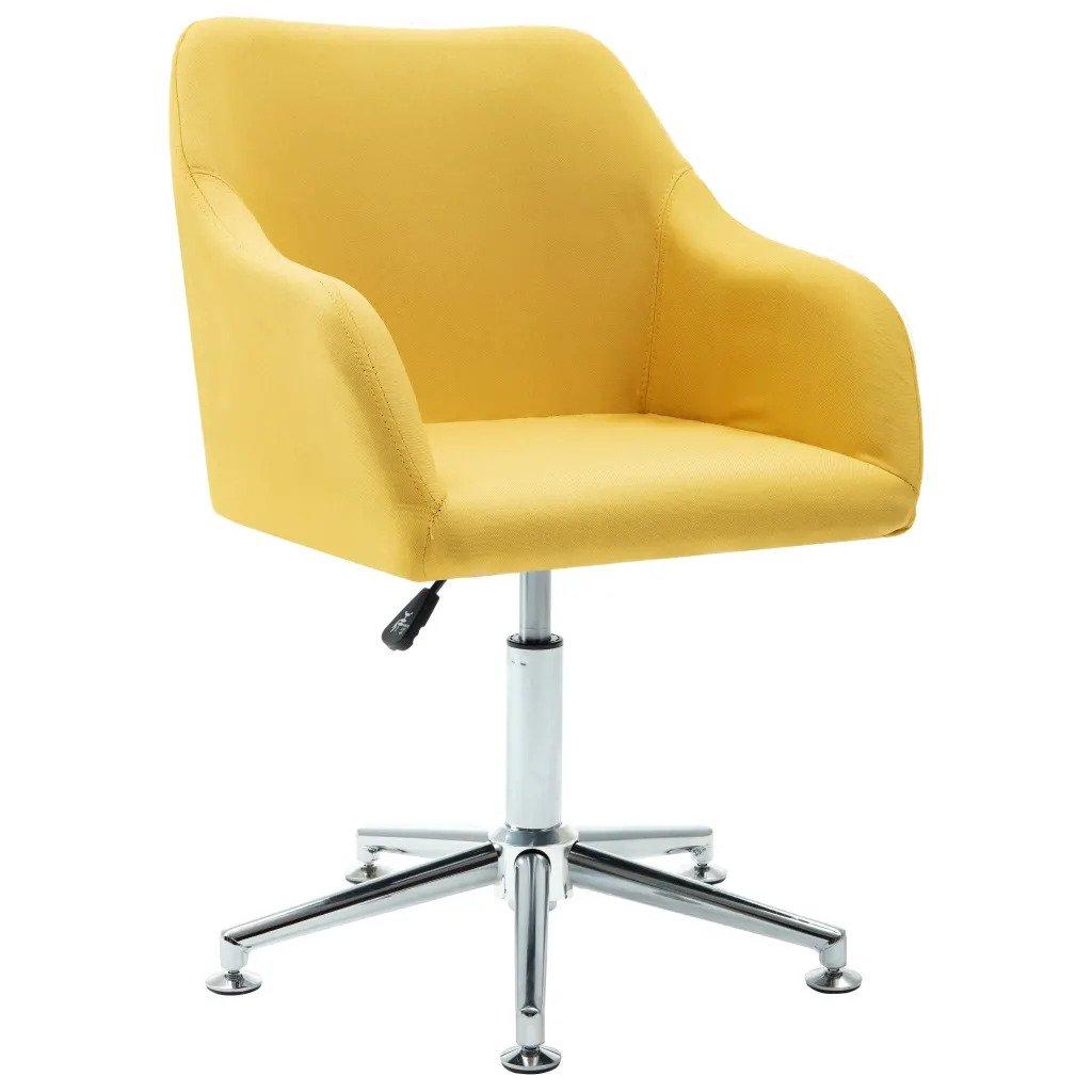 scaun birou copil galben
