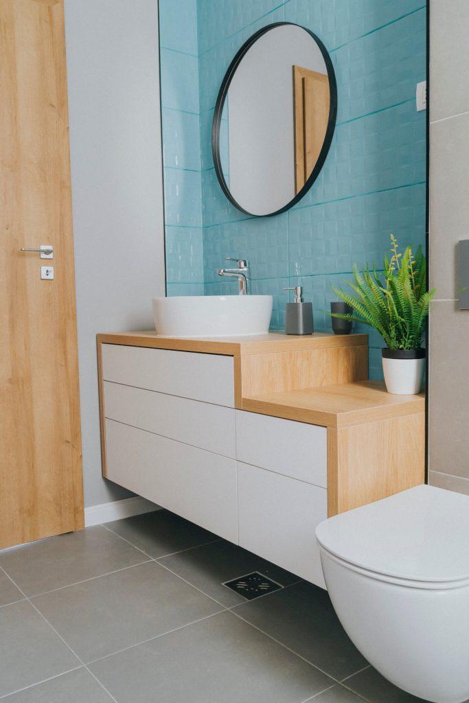 Baie turcoaz - apartament de inchiriat Oradea - AIDO Studio Design (2)