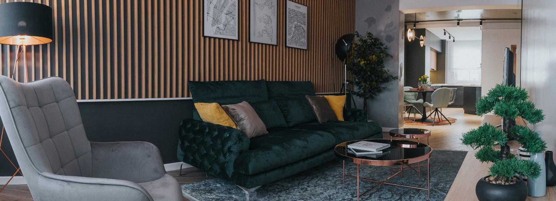 Living apartament de inchiriat Oradea - AIDO Studio Design (1)