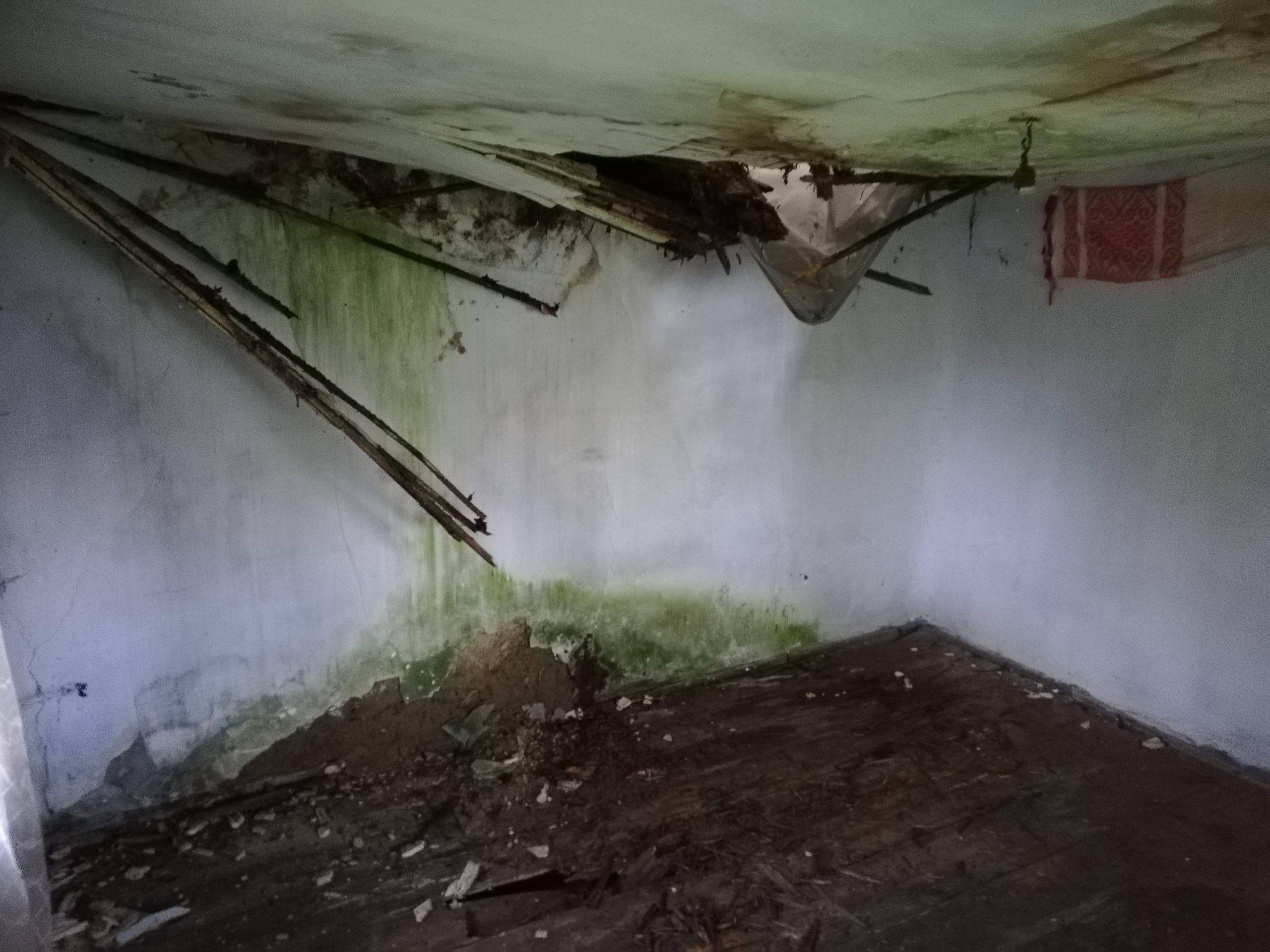 Recondiționarea a început cu cea mai importantă lucrare, acoperișul