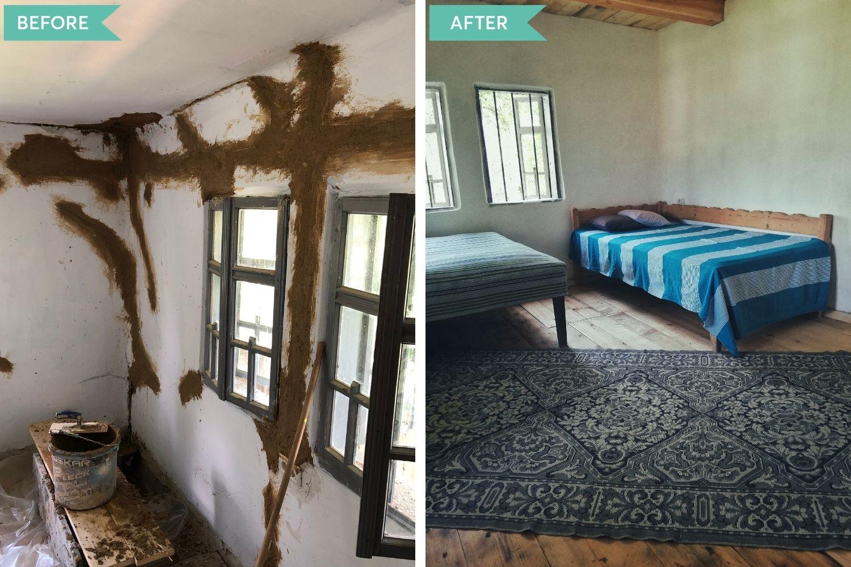 casă la țară Dona și Vali își doresc să se ocupe singuri de designul de interior