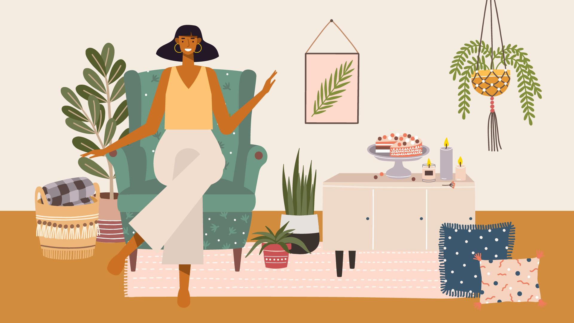cum să fii fericit acasă