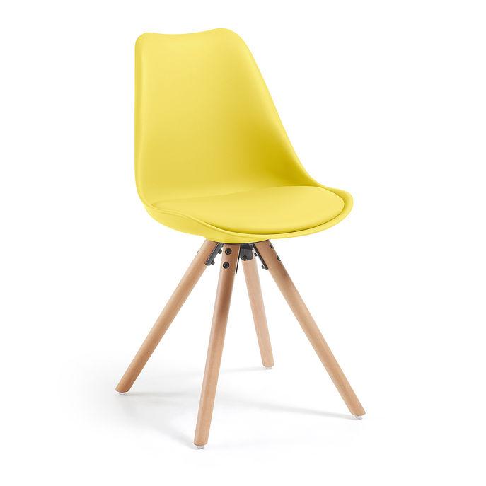 scaune moderne galben