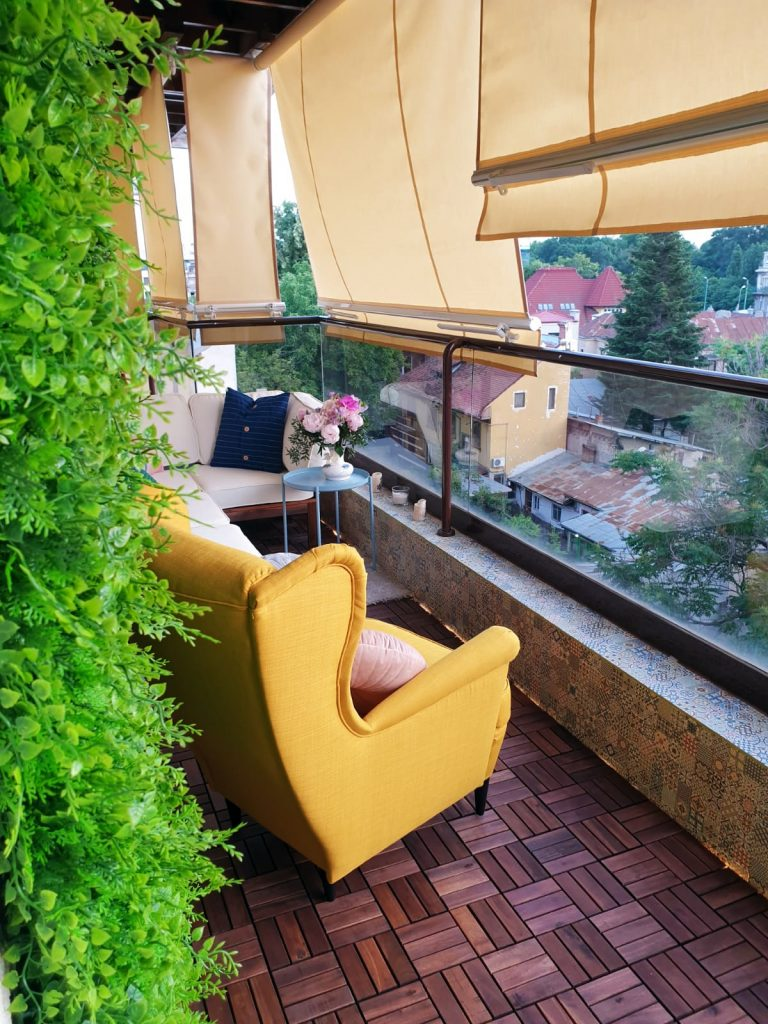 balcon amenajat de Andreea Ştefan