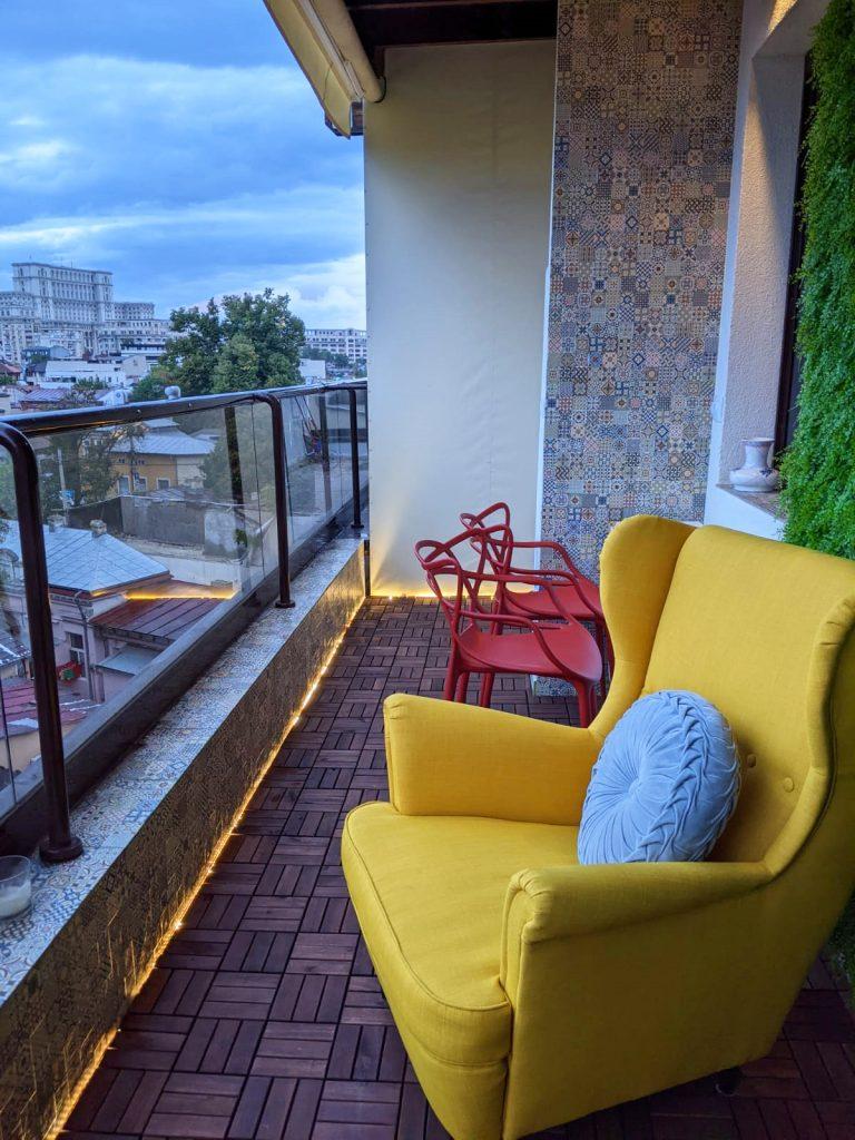 amenajare balcon deschis
