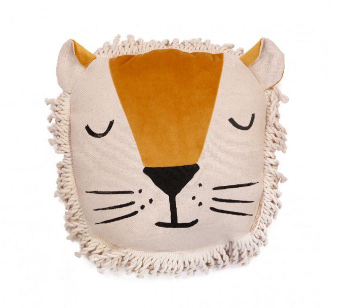 4. nobodinoz lion cushion